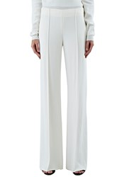 Agnona Wide Leg Pants White
