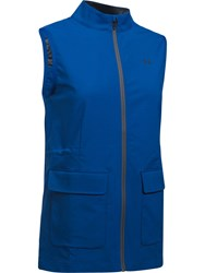 Under Armour Storm Windstrike Full Zip Vest Blue