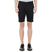 Theory Men's Zaine Shorts Black Blue Black Blue