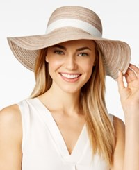 Inc International Concepts Metallic Packable Floppy Hat Only At Macy's Natural