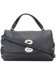 Zanellato Medium 'Postina' Bag Blue