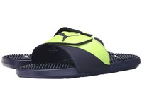 Puma Starcat Tpr Peacoat Safety Yellow Men's Sandals Black