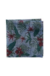 Jack Spade Tropical Pocket Square Multi