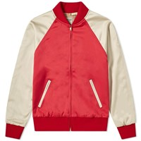 Levi's Vintage Clothing Climate Seal Bomber Jacket Red