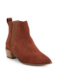 Seychelles Leather Ankle Boots Cognac
