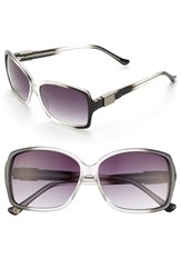 Women's Ivanka Trump 53Mm Sunglasses Black Fade