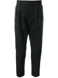 Low Brand Tailored Track Pants Black