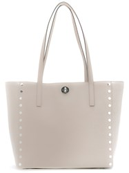 Michael Michael Kors Studded Tote Nude Neutrals