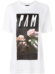 P.A.M. Perks And Mini Pam 'Romeo Juliet' T Shirt White