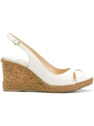 Jimmy Choo Amely 80 Sandals White