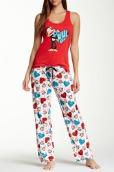 Paul Frank Fun Pj Set Red