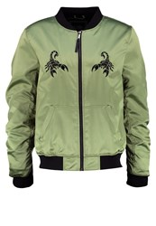 Cayler And Sons First Division Bomber Jacket Olive