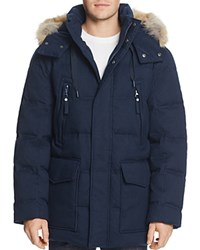 Marc New York Dobeln Hooded Parka Ink