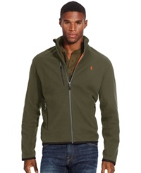 Polo Ralph Lauren Microfleece Track Jacket Defender