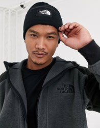 The North Face Dock Worker Recycled Beanie In Black