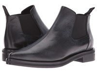 Mcq By Alexander Mcqueen Redchurch Chelsea Black Calf Leather Women's Pull On Boots