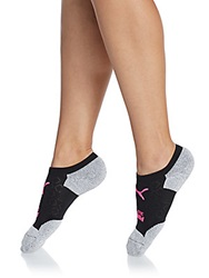 Puma No Show Socks Set Bright Pink