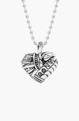 Women's Lagos 'Hearts Of Lagos New York' Reversible Pendant Necklace Heart Of New York Online Only