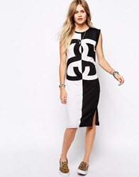 Stussy Muscle Vest Dress With Doube Ss Logo White