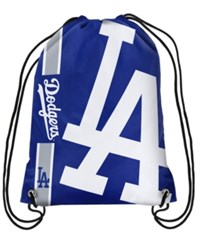 Forever Collectibles Los Angeles Dodgers Big Logo Drawstring Bag Blue