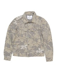 Camouflage Ar And J. Jackets Military Green