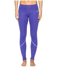 Asics Lite Show Winter Tights Royal Blue Women's Casual Pants