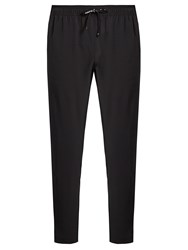 The Upside Off Track Cropped Performance Track Pants Black