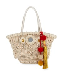 Figue Stevie Tuk Tuk Tote Bag Ivory