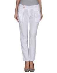 Fracomina Casual Pants White