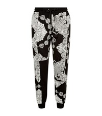 Mcq By Alexander Mcqueen Paisley Print Joggers Male Black