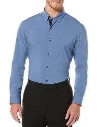 Perry Ellis Active Solid Dress Shirt