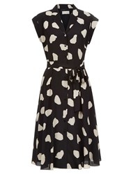 Hobbs Alexia Dress Black