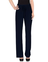 Kaos Trousers Casual Trousers Women Dark Blue
