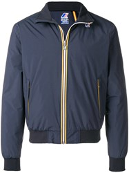 K Way Johnny Ripstop Jacket Blue