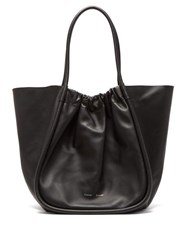 Proenza Schouler Ruched Xl Leather Tote Bag Black