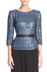 Women's Alex Evenings Belted Blouse