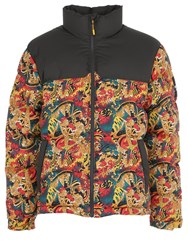 The North Face 1992 Nuptse Printed Down Jacket Leopard Yellow