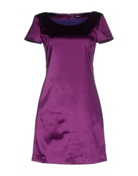 Byblos Short Dresses Purple