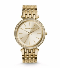 Michael Kors Darci Gold Tone Stainless Steel Watch