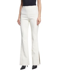 Solace London Ray High Rise Slit Side Trousers Black