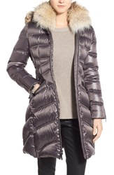 Women's Dawn Levy 'Cloe' Genuine Coyote Fur Trim Goose Down Coat