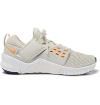 Nike Training Metcon 2 Free Mesh And Neoprene Sneakers Off White