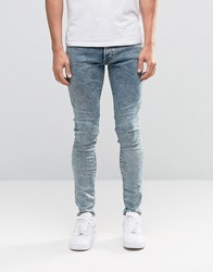 G Star Revend Super Skinny Jeans Light Aged Acid Lt Aged Blue