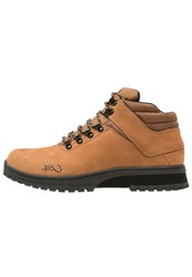 K1x H1ke Territory Laceup Boots Dark Honey Black Dark Brown