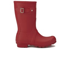 Hunter Women's Original Short Wellies Military Red