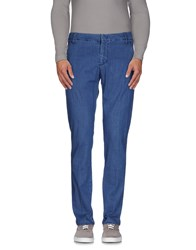 Entre Amis Men Denim Denim Trousers Men Blue