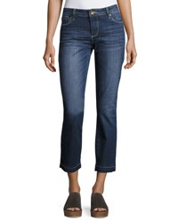 Kut From The Kloth Reese Straight Leg Ankle Jeans Blue