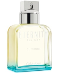 Calvin Klein Eternity For Men Summer Eau De Toilette 3.4 Oz