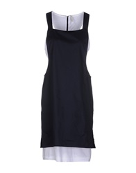 Aimo Richly Short Dresses Dark Blue