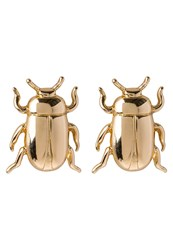 Banana Republic Beatle Studs Earrings Goldcoloured